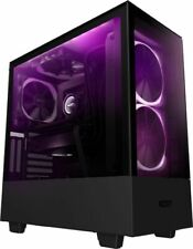 NZXT H510 Elite Premium ATX Mid Tower Case with Tempered Glass - Matte Black