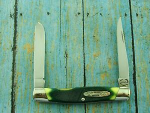 REMINGTON USA 9506 GREEN FOLDING MOOSE TRAPPER JACK POCKET KNIFE CAMILLUS KNIVES