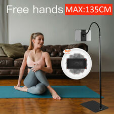 Universal Tripod Floor Stand Holder Adjustable Gooseneck For iPad iPhone Tablet