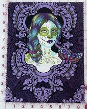 New listing 1 Cameo print Tula Pink De La Luna Possessed Haunted Cotton - Oop