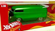 HOT WHEELS VOLKSWAGEN Redline Customized VW DRAG BUS CLASSICS 1:18 GREEN H8766