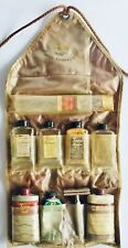 Antique Vintage Mens Travel Case Grooming Products Bathroom Toilet Bath Kit