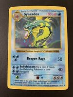 1999 Pokemon Gyarados - Holo - Base Set Shadowless 6/102 Near Mint PSA Ready