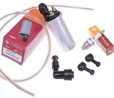Zündspule 6V Kabel Kerzen-Stecker Zündkerze für Simson S51 S50 S70 KR51 SCHWALBE