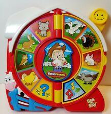 See N Say Mattel Little People Eddie The Farmer 2003 Learning Toy