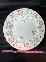 "Churchill England Briar Rose, Dinner Plates 10"", Set Of 6"