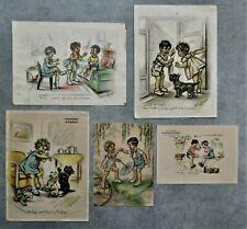Germaine Bouret:Lot de 5 gravures couleur des années 30: