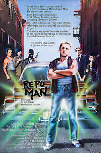 Posters USA - Repo Man Movie Poster Glossy Finish - PRM517