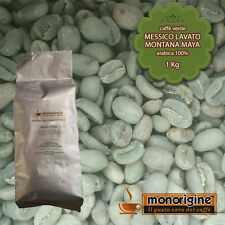 Caffè Verde in Grani Messico Lavato Montana Maya 1 Kg - Caffè Arabica 100%