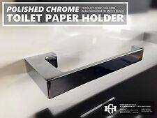 Polished Chrome SQUARE Brass TOILET PAPER ROLL HOLDER Bathroom Accessories