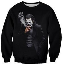Joker Harajuku3D Print casual Sweater sweatshirt Fashion MensWomens Hoodies Tops