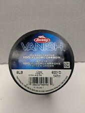 Berkley Vanish Fluorocarbon 8lb 500yds Clear Fishing line