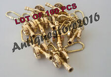 Collectible Nautical Solid Brass CANON Key Chain Lot Of 100 Pcs Best Gift Item