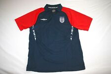 England Umbro Polo Shirt Men XL Navy Red NEW