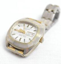 Nicht Wasserbeständige Mechanisch-(Handaufzug) Armbanduhren mit Datumsanzeige für Herren