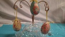 """3"" Vintage Paper Easter Eggs- Bunnies, Chicks, Ducks- Good Vintage Condition!"