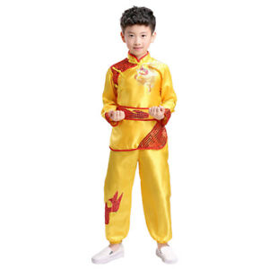 Chinese Kung Fu Costume Tai Chi Martial Arts Stage Performance Uniform Clothings
