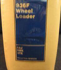 Caterpillar 936F (SN 8AJ, 9MK and 4TK) Wheel Loader Service Manual
