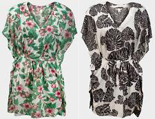 H&M Hip Length Polyester V Neck Tops & Shirts for Women