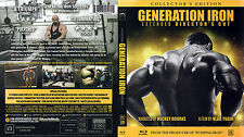 Generation Iron Extended Director's Cut Bluray Bodybuilding / Phil Heath New