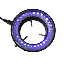Purple UV Light Microscope Light LED Ring Lamp 60mm Inner Diameter