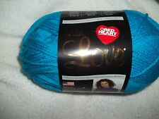 1 Skein Red Heart With Love Yarn---Blue Hawaii              NEW!!