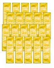 Milk Chocolate Bars 20 pcs - Gold Foil- Made in Australia 12.5cm x 3.5cm