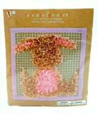 New listing Bunny Latch Embroidery And Yarn Hook Kit For Ages 9+ New/Sealed