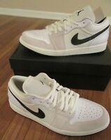 Nike Air Jordan 1 Low PRM Size 11.5 Sail Black White DC3533 100 Brand New NIB