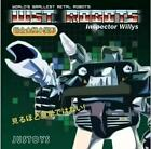 Justoys World\'s Smallest Transform WST. ROBOTS Insptector Willy Hound IN STOCK
