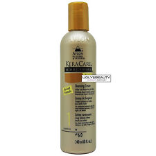 KeraCare Cleansing Cream 8 fl. oz. / 240 ml with Free Gift