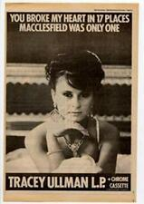 Tracey Ullman You Broke My Heart Advert NME Cutting 1983