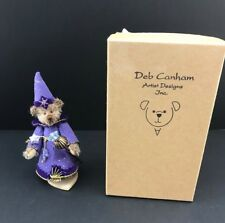 DEB CANHAM Merlin - The CAMELOT COLLECTION LE miniature bear  577/2500