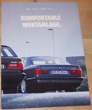 Prospekt BMW 518i 1993