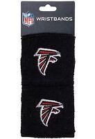 Brand New Atlanta Falcons Wristbands Sweatbands Two Pack Black NFL