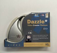 Dazzle Video Creator Platinum Transfer Videos from Tape to DVD  NEW SEALED!!