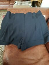 Miss Selfridge Paper Bag Shorts Size 12