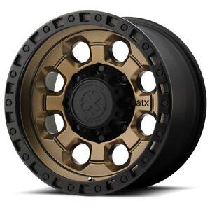 18 Inch Black Bronze Wheels Rims Jeep Wrangler JK Chevy Truck Suburban 5 Lug NEW