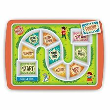 Kids Dinner Winner Meal Plate Tray Childrens Lunch Game Kids Fun by Fred