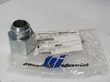 NEW BRENNAN 20MJ-20FP STRAIGHT FITTING 2405-20-20 24052020 1-5/8-12 JIC
