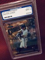 1997 ~ Chipper Jones #273 / Topps Finest - Baseball Card / PGS Graded ~ Mint 9