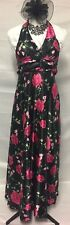 Maxi dress. New With Tags. Size XL. Black With Floral Print.