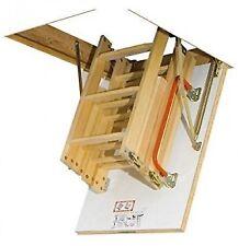 FAKRO Wooden Folding Section Loft Ladder 120cm X 60cm
