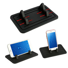 Universal Grip Silicone Pad Car Dashboard Mount Holder Cradle for Cell Phone