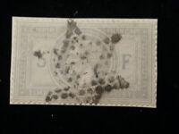 Frankreich 1869 - Kaiser Napoleon III. 5 Fr    MiNr. 32  auf Briefstück