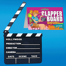 Clapper Board - Use for Theatrical Events, Gags, Pranks, and Just Plain Fun!