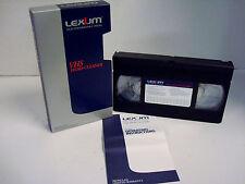 VHS Head Cleaner Lexium