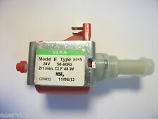 Elektropumpe 48W Ulka EP5 24Volt 15bar Universal 7,1/8,3