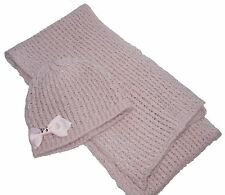 Pretty Teens Ladies Gift Boxed Hat and Scarf Set NEW
