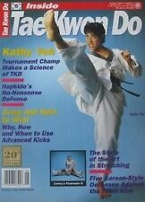 8/93 INSIDE TAEKWONDO KATHY YEH GUARDIAN ANGELS KARATE KUNG FU MARTIAL ARTS